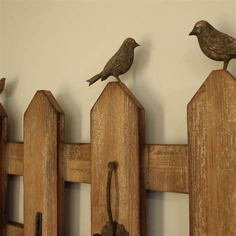 garden wall hooks garden fence style wall hooks melody maison 174