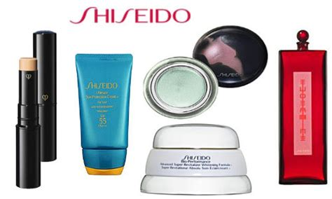 Shiseido Kosmetik shiseido cosmetics collection