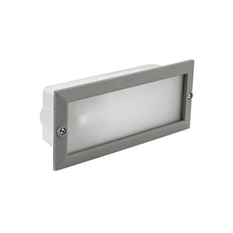 aplique exterior de encastrar tamesis 15w leroy merlin - Apliques Luz Exterior Leroy Merlin