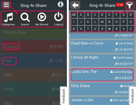 karaoke app android free karaoke app for android to sing along your favorite song
