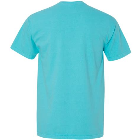 comfort color lagoon blue comfort colors 6030 garment dyed heavyweight ringspun