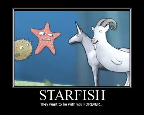 Starfish Meme - charlie the unicorn funny quotes quotesgram