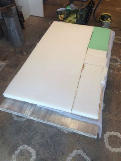 Build A Bed Frame Cheap How To Build A Diy Upholstered Headboard Diy Tutorial