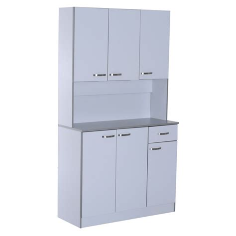 Kitchen Microwave Pantry Storage Cabinet Homcom Microwave Storage Pantry Cabinet Shop Your Way Shopping Earn Points On Tools