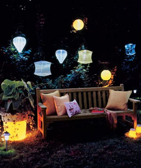 solar lights for backyard 12 creative outdoor lighting ideas always in trend