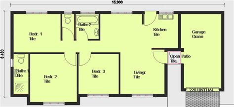 free houseplans house plans building plans and free house plans floor plans from south africa plan of the