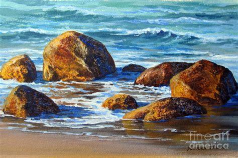 acrylic painting rocks rocks painting by varvara harmon