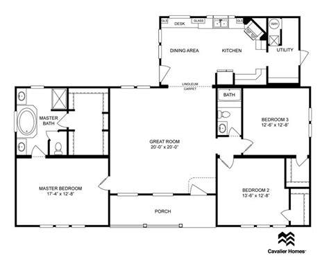 cavalier mobile home floor plans cavalier mobile home floor plans