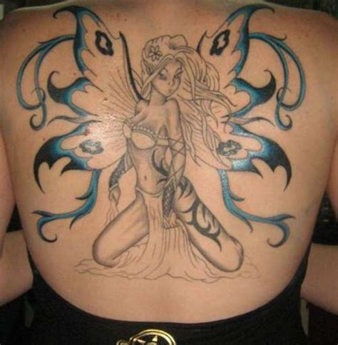fairy back tattoo designs 25 magically tattoos creativefan