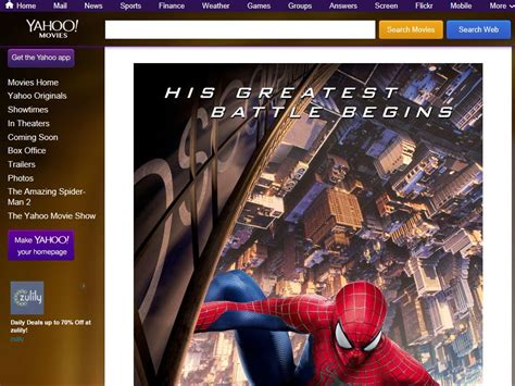 Yahoo Sweepstakes - yahoo movies giveaway the amazing spider man 2 sweepstakes sweepstakes fanatics