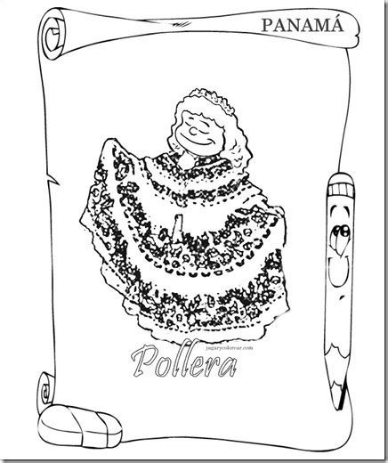 simbolos patrios colouring pages titulo dibujos para colorear s 237 mbolos patrios de panam 225