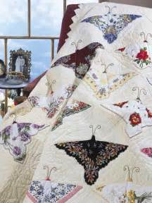 Handkerchief Butterfly Quilt Pattern by Hankie Quilts On Handkerchiefs Quilts And