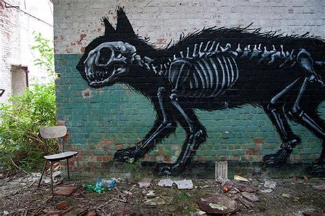 black cat   bones animal graffiti character gatos