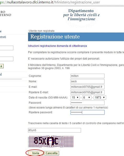 registrazione cittadinanza interno it il portale dell immigrazione e degli immigrati in italia