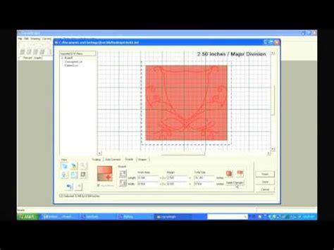 line drawing software carvewright dxf import software tutorial 1 importing a