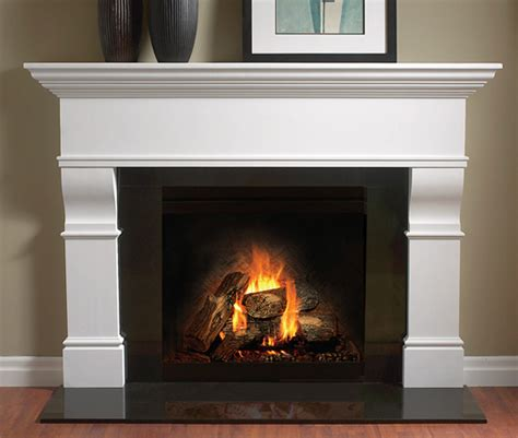 balmer 4116 edinburgh gypsum cement fireplace mantel