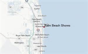 palm shores weather forecast