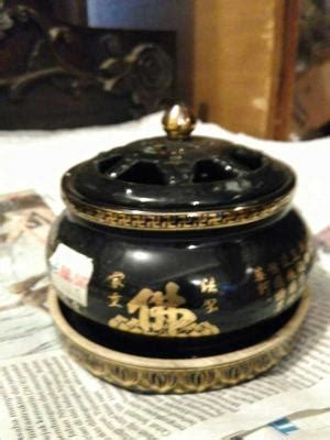 Keramik Tempat Bakar Dupa jual pajangan telepon kayu hitam dhammamanggala