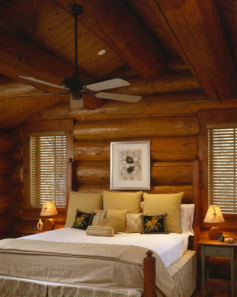 Cabin Bedroom Decorating Ideas by Log Cabin Decorating Ideas Rustic With Club Glass