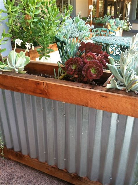 pin  cindy chasey   great outdoors tin planters