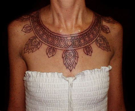 tribal collar tattoo aztec necklace but i want it as a arm band