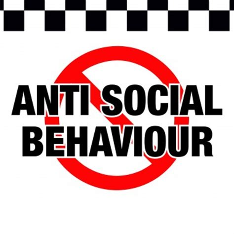 antisocial behaviour theft signs crime prevention signs stickers posters