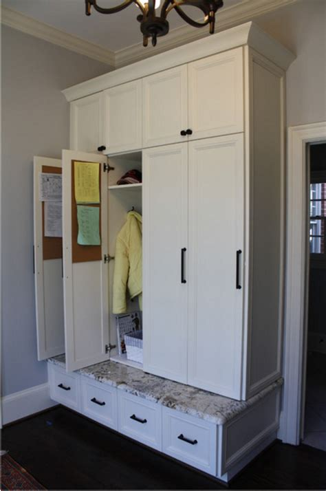 laundry rooms storage and doors mudroom lockers with doors mudroom pinterest mudroom