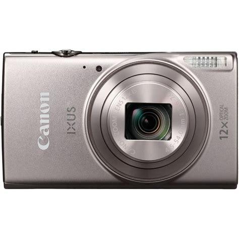 canon compact canon ixus 285 hs compact silver compact cameras