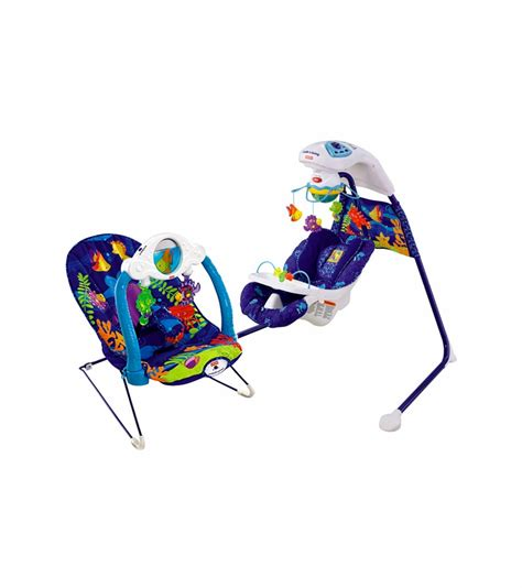 fisher price ocean swing fisher price ocean wonders swing bouncer bundle