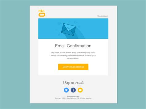 design html email template email template design by mara goes dribbble