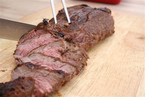 hoisin marinated tri tip roast recipe chow com