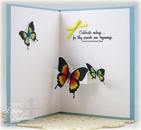 Flying Butterfly Card Template by Tutorials And Templates Page 2