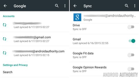 android sync settings system checkup keep tabs on background data usage android customization android authority