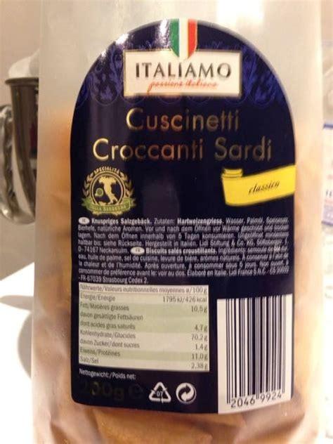 cuscinetti croccanti sardi klassik italiamo