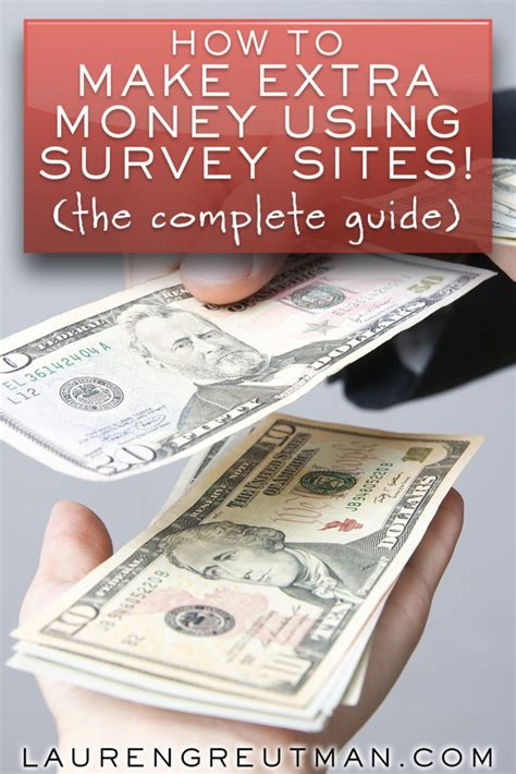How To Make A Little Extra Money Online - how to make extra money at home with survey sites