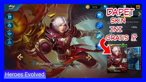 codashop heroes evolved indo dapet skin exclusive poseidon heroes evolved