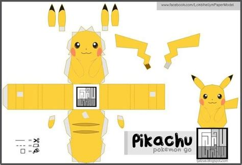 Papercraft Pikachu - 46 best images about on
