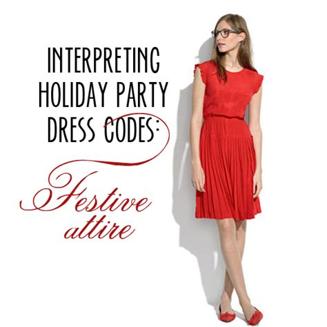 interpreting holiday party dress codes festive attire