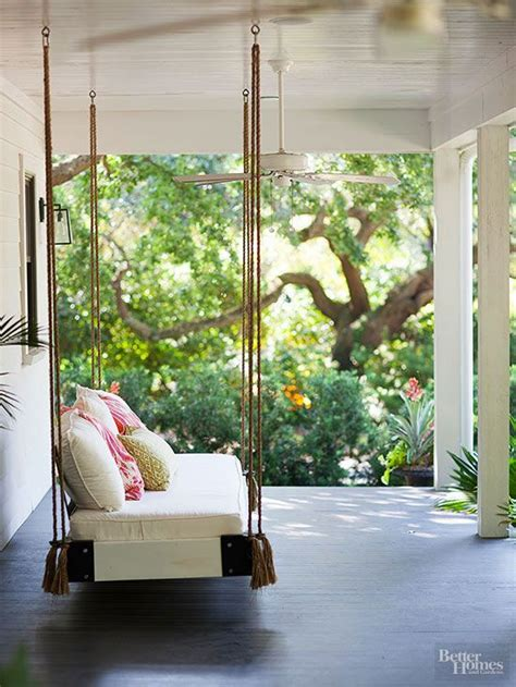 outdoor platform swing outdoor porch beds that will make nature naps worth it