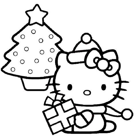 hello kitty christmas tree coloring page hello kitty christmas coloring pages coloring
