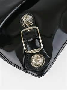 It Or Leave It Patent Leather Is Showing Up On Everything From Belts To Bags To Shoes But by Balenciaga Black Patent Leather 21 Silver Gladiator