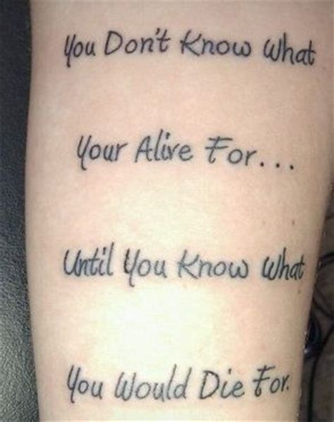 meaningful quotes for tattoos for men meaningful quotes for tattoos for guys image quotes at