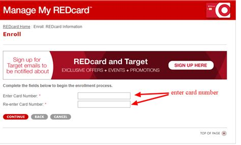 target card make a payment rcam target session timed out login target redcard