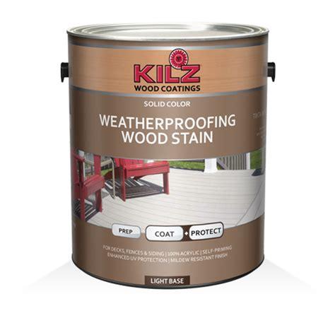 kilz primers paints wood care concrete stains