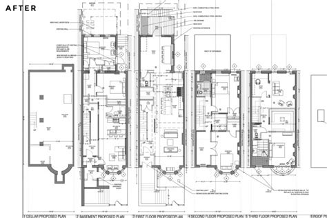 typical brownstone floor plan pleasing 50 typical brownstone floor plan inspiration