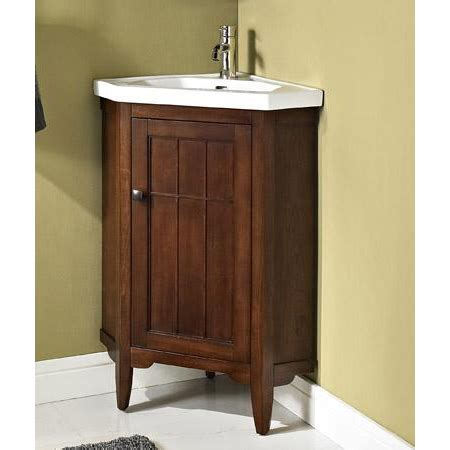 corner bathroom vanity ideas fairmont designs prairie 26 quot corner vanity sink set cognac free shipping modern bathroom