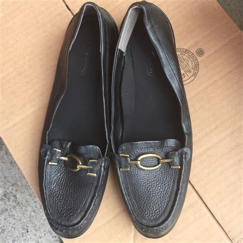 black flat shoes with gold buckle easy spirit black flats with gold buckle from laresa s
