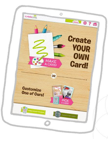 printable greeting card maker ipad creatacard for ipad kids card maker american greetings