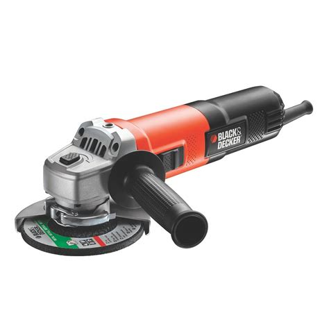 black and decker grinder black decker kg750 115mm angle grinder 750w black