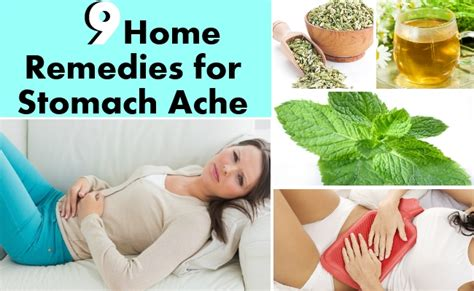 stomach remedy home